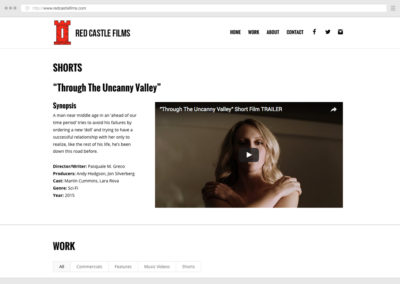 Vancouver Film Production WordPress Web Development