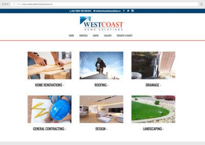 Vancouver Home Construction Website Design