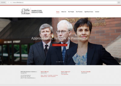 Vancouver Law Firm WordPress Web Development