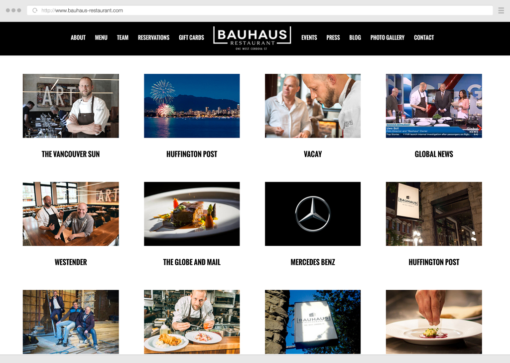 Web Design Contract for a restaurant, can you help?