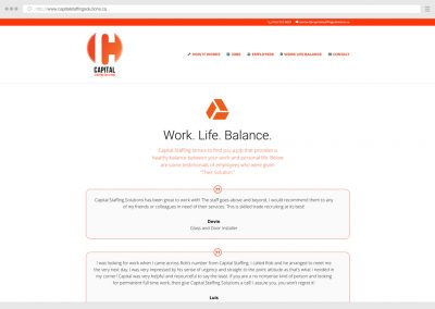 Toronto Skilled Trades Employment Agency & Staffing WordPress Web Design