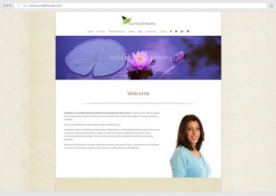 Vancouver Vitamin Store & Holistic Health WordPress Web Design