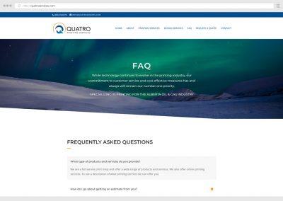 Calgary Printing Services WordPress Web Design