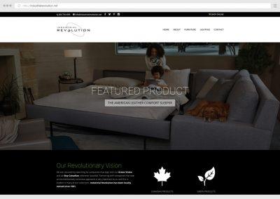 Vancouver Furniture Store WordPress Web Design