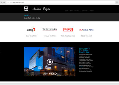 Vancouver Real Estate WordPress Web Design