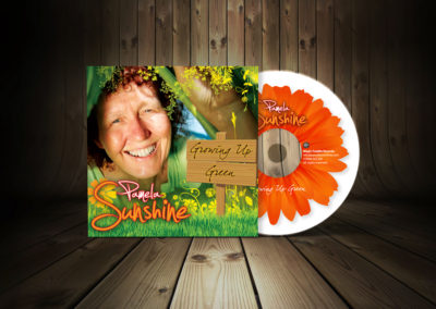 Children's Musician CD Graphic Design