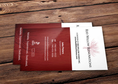 Home Renovations Business Card Graphic Design