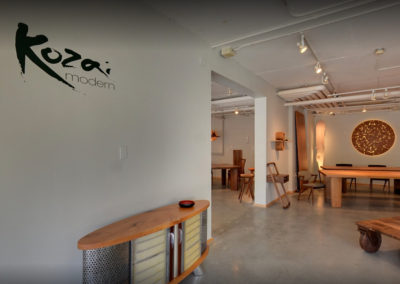 Japanese Furniture Showroom Graphic Design