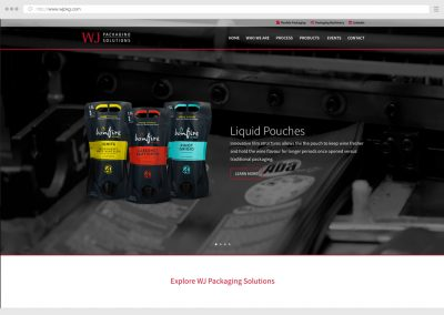 Vancouver Richmond Food Packaging WordPress Web Design
