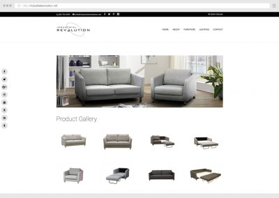 Vancouver Furniture Store WordPress Web Design