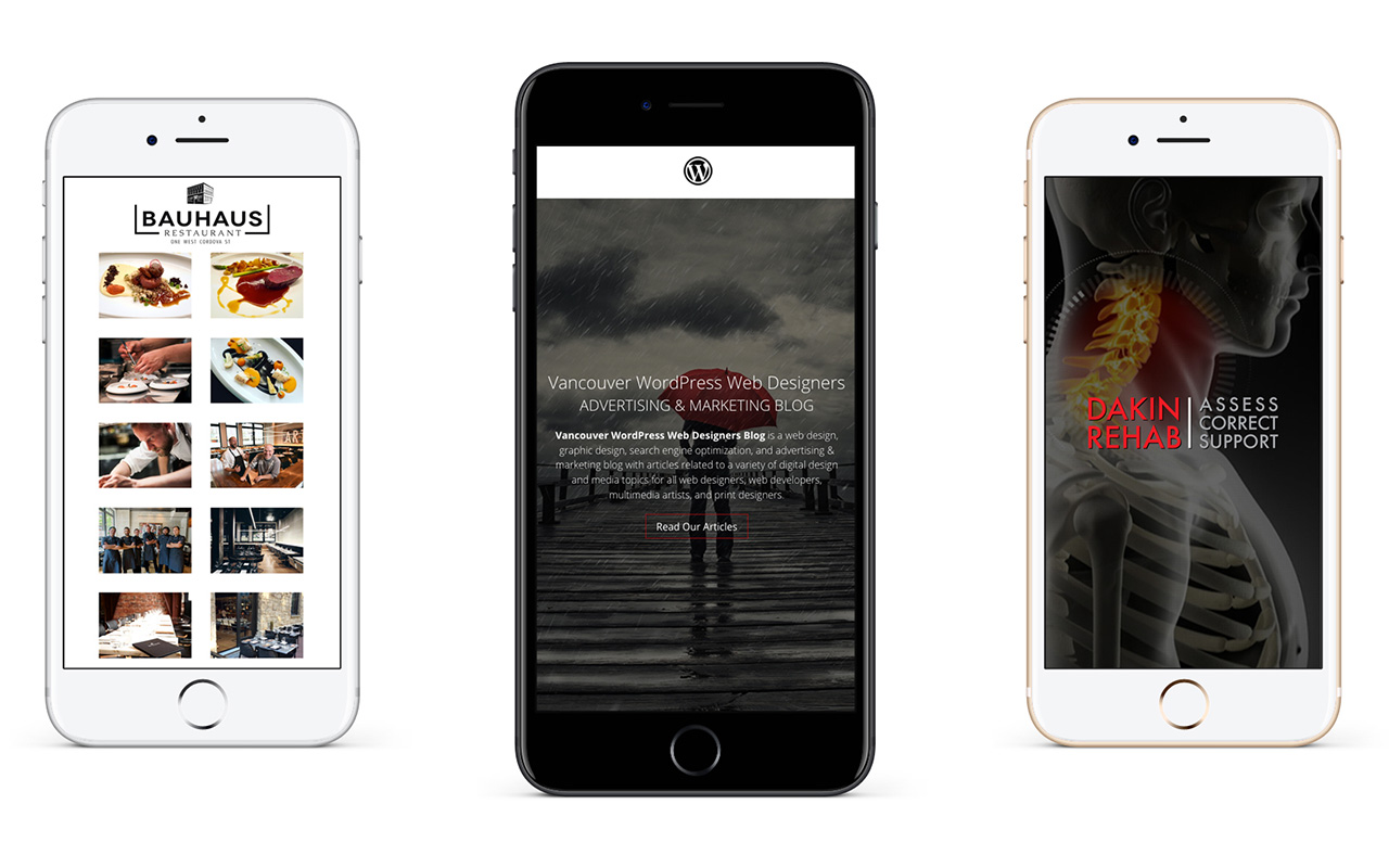 Vancouver Mobile Responsive Web Designers